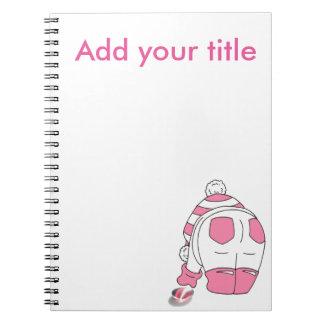 Candy Stripe Seaglass Multi Notebook
