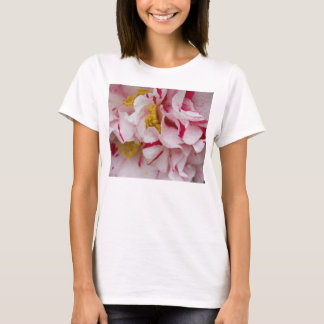 Candy Striped Camellia T-Shirt