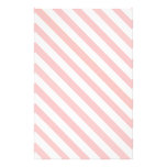 Candy Striped Christmas Stationary Personalized Stationery