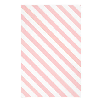 Candy Striped Christmas Stationary Stationery