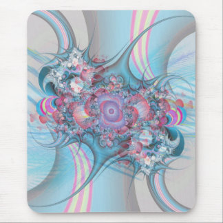 Candy striped Rose bouquet Mouse Pad
