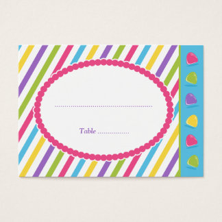 Candy Stripes Business Card