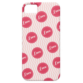 Candy Stripes Love Dots Pattern Valentine's Day iPhone 5 Covers