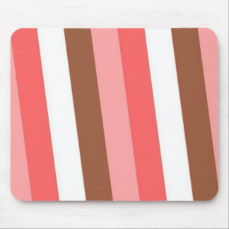 Candy Stripes Mouse Pad
