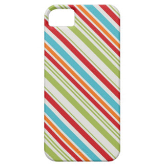 Candy stripes retro rainbow stripe striped pattern iPhone SE/5/5s case