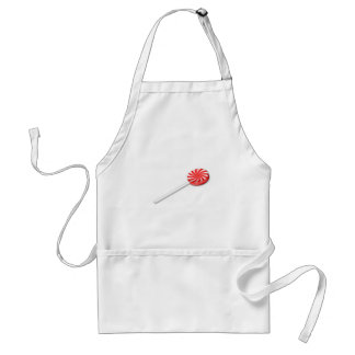 Candy Sucker Adult Apron