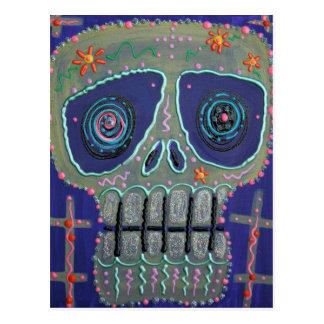 Candy Sugar Skull Postcards