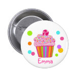Candy Surprise Cupcake 2 Inch Round Button