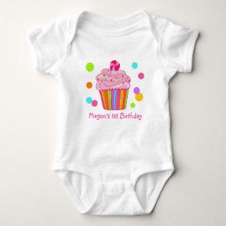 Candy Surprise Cupcake Baby Bodysuit