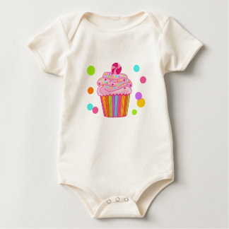 Candy Surprise Cupcake Bodysuit