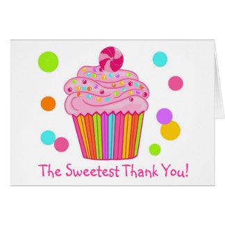 Candy Surprise Cupcake Card