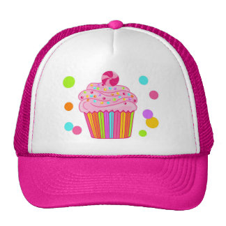 Candy Surprise Cupcake Trucker Hat