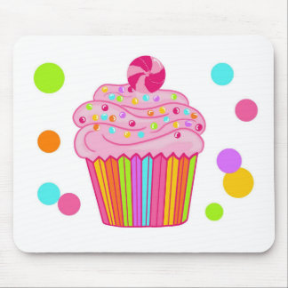 Candy Surprise Cupcake Mouse Pad