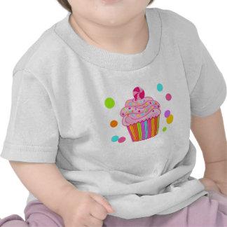 Candy Surprise Cupcake T-shirts