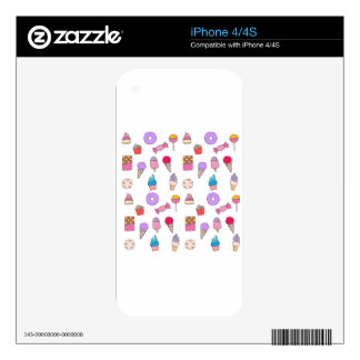Candy, sweets and cake iPhone 4 skin