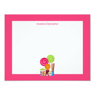 Candy & Sweets Flat Notecards