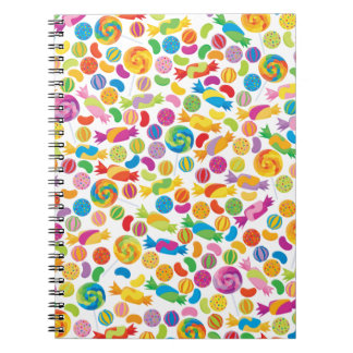 Candy Sweets Note Books