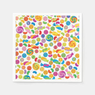 Candy Sweets Paper Napkins