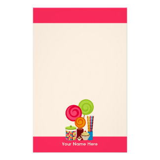 Candy & Sweets Stationery