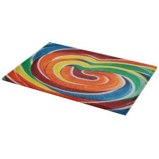 Candy Swirl Cutting Board