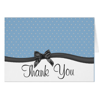 Candy Thank You with Bow Card