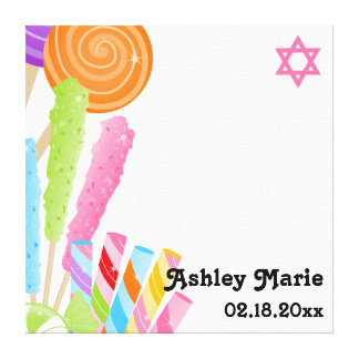 Candy Theme Bat Mitzvah Sign In