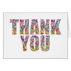 Candy Theme Thank You Card Sweet Sprinkles