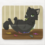 Candy thief mouse pad