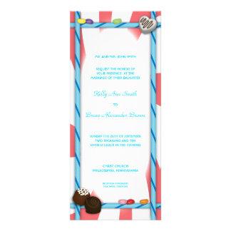 Candy Ticket Invitation