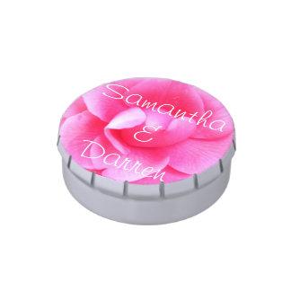 Candy Tin - Dark Pink Camellia 1