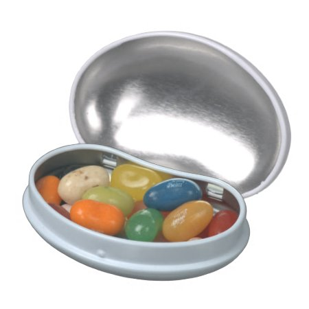 Candy Tin Filled With Jelly Belly Beans