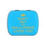 [Two hearts] don't cry coz niall horan loves you  Candy Tins