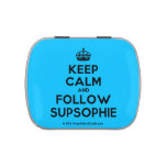 [Crown] keep calm and follow supsophie  Candy Tins