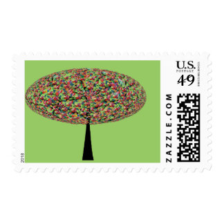 Candy Tree Stamps