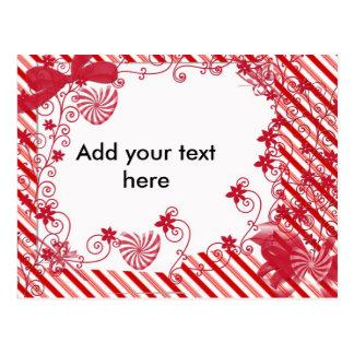 Candy Vine, Customizable Postcard