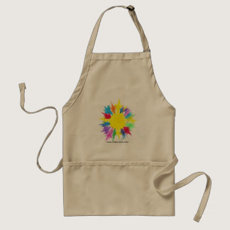 Candy Waters Autism Artist Adult Apron