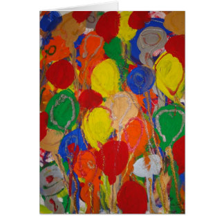 Candy Waters Autism Artist Birthday Card