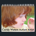 "Candy Waters Autism Artist Calendar<br><div class=""desc"">Candy Waters is 17 years old, has autism and is nonverbal but is able to speak through her art and be heard around the world. Candy is a published artist with her art book titled &quot;Unspoken Gift ~ Candy Waters Autism Artist&quot; available on Amazon. The University of California, Irvine Magazine...</div>"