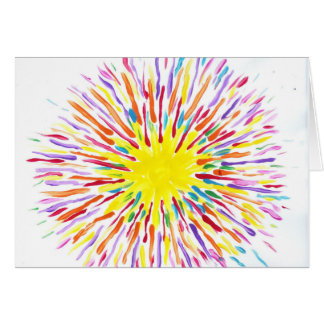 Candy Waters Autism Artist Greeting Card