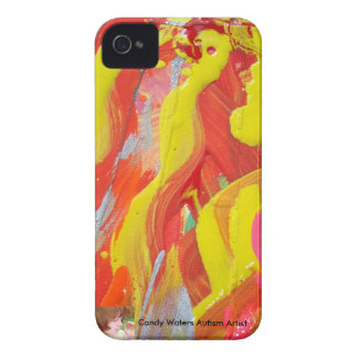 Candy Waters Autism Artist iPhone 4 Case
