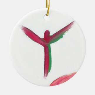 Candy Waters Autism Artist Ceramic Ornament