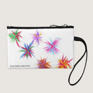 Candy Waters Autism Artist Coin Wallet