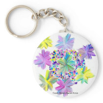 Candy Waters Autism Artist Keychain