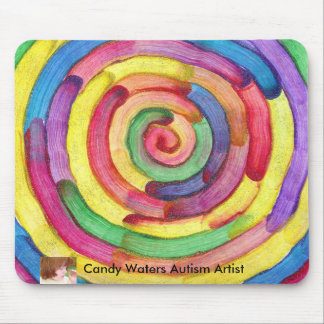 Candy Waters Autism Artist Mouse Pad