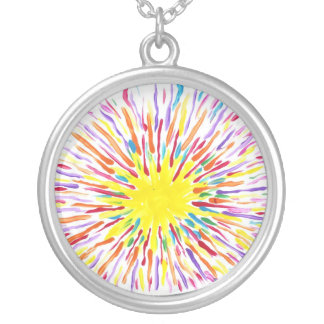 Candy Waters Autism Artist Painting Necklace