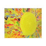 Candy Waters Autism Artist Painting on Canvas Canvas Print