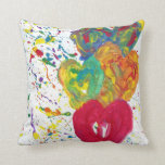 Candy Waters Autism Artist Pillow