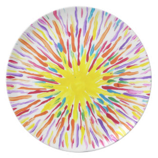 Candy Waters Autism Artist Dinner Plate