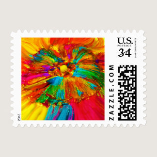 Candy Waters Autism Artist Postage