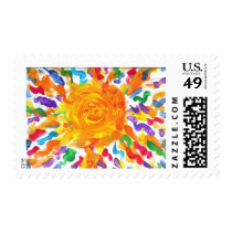 Candy Waters Autism Artist Stamp
